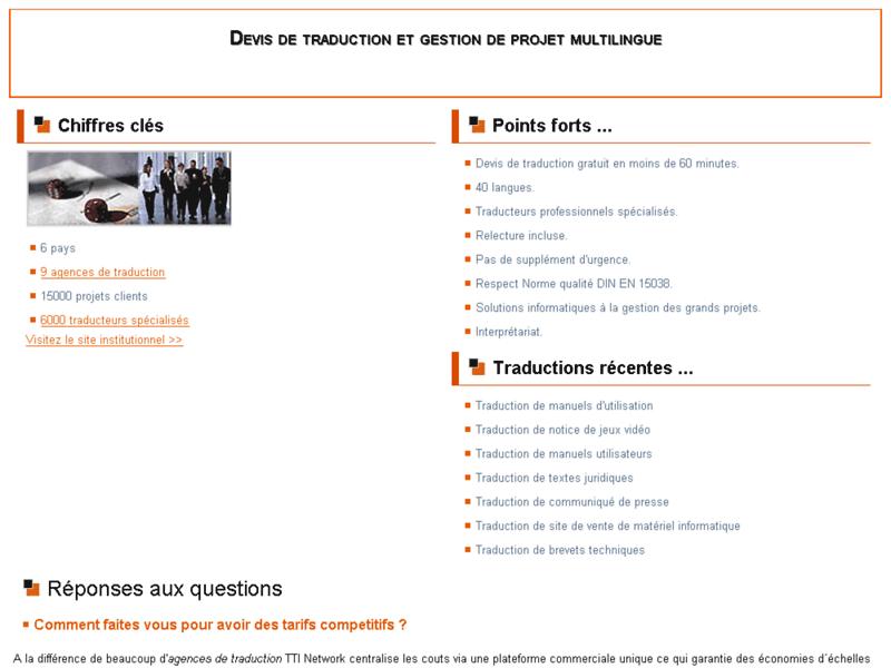 Devis traduction français slovaque