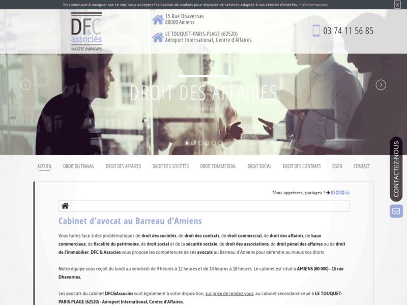 DFC & associés, avocats en droit des affaires à Amiens