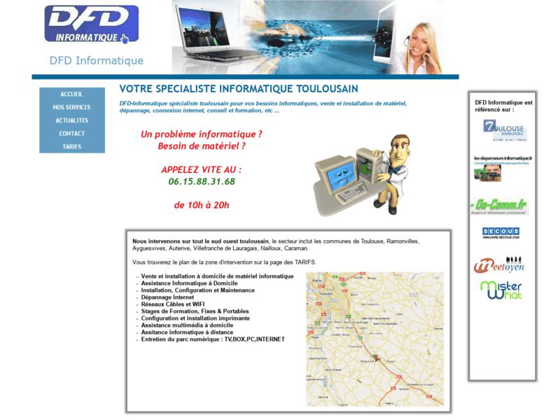 DFD informatique dépannage sur Toulouse