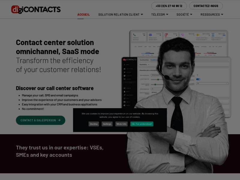 Solution call center et ipbx