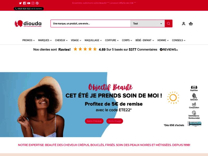 Beauté afro et produits cosmétiques afro-africain