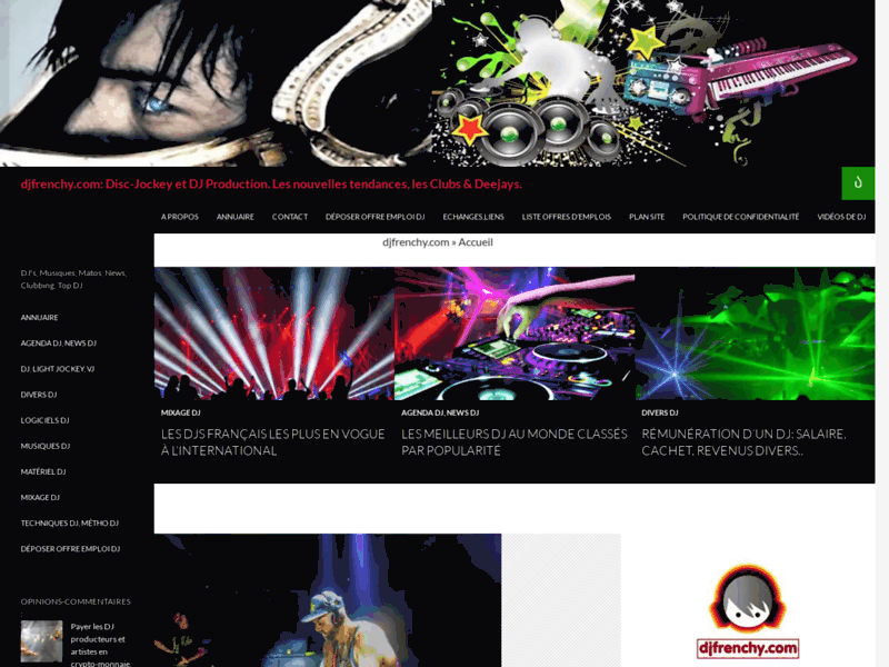Infos DJing, conseils et Mix DJ : DJfrenchy