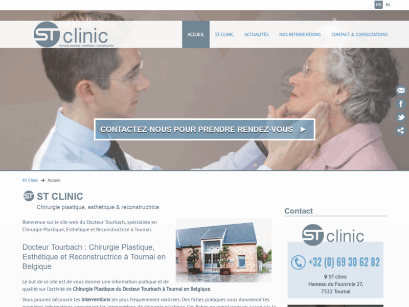ST Clinic à Tournai