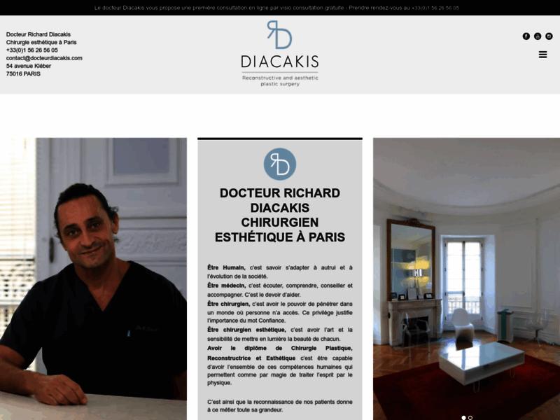 Docteur Diacakis, chirurgien plasticien et esthétique à Paris
