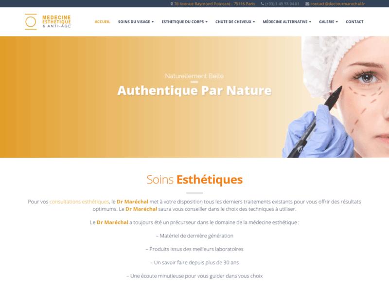 Médecine esthétique anti-âge Paris