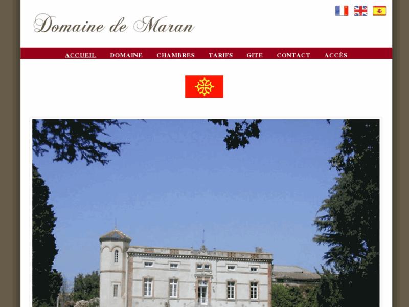 Chambres d'Hôtes de Charme et Gite près de Carcassonne -Domaine de Maran
