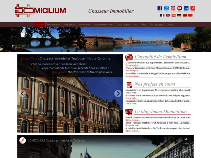 Domicilium - Chasseur Immobilier