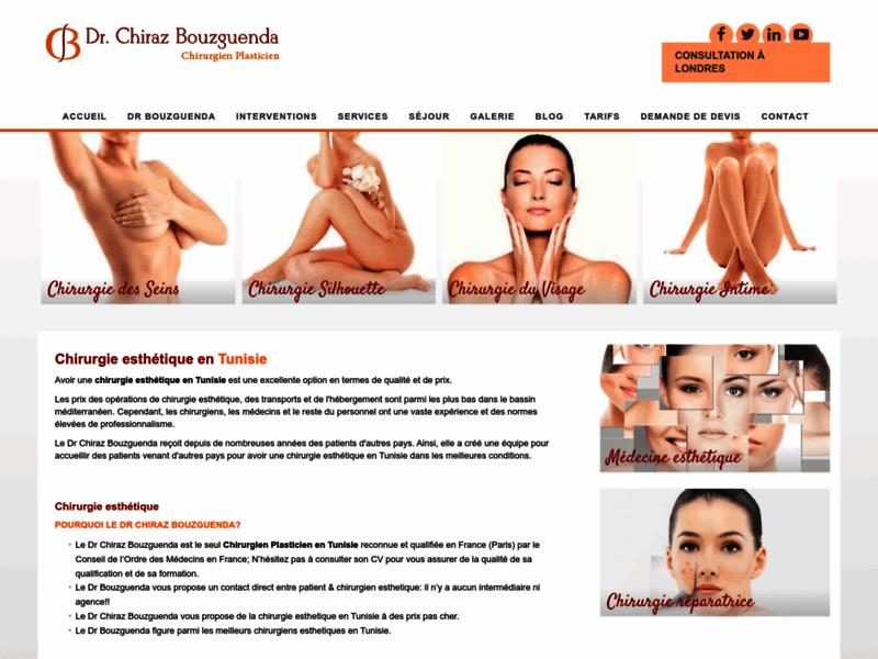 Chirurgie esthétique et plastique en Tunisie | Dr Bouzguenda Chiraz