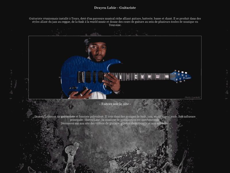 Drayen Labie - Guitariste Jazz