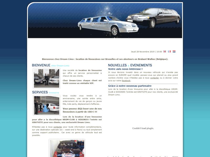 Location limousine avec chauffeur Bruxelles Brabant Wallon