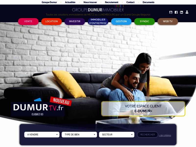Le Groupe Dumur Immobilier