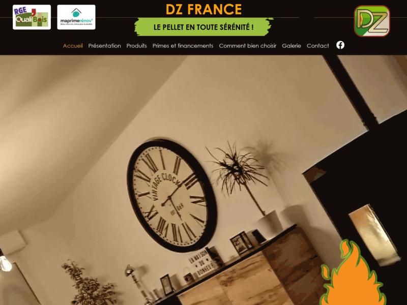 DZ France, chauffage à granulés