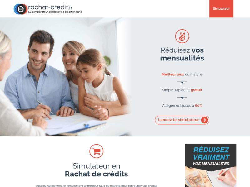 Rachat de crédit : E-Rachat-Crédit