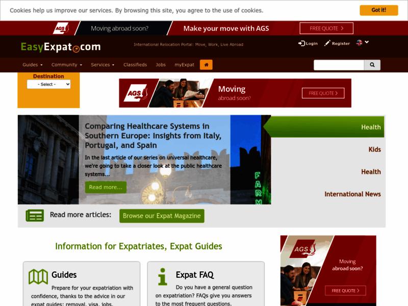 Information pour Expatriés - Easy Expat