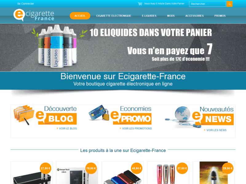 Cigarette électronique Ecigarette France