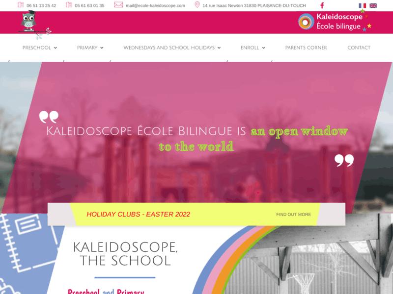 Kaleidoscope - Ecole Bilingue Toulouse