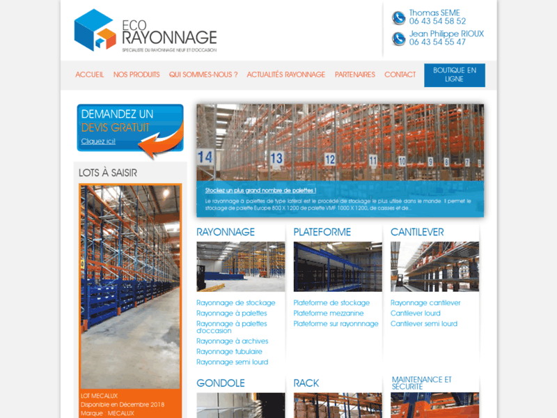 Eco Rayonnage
