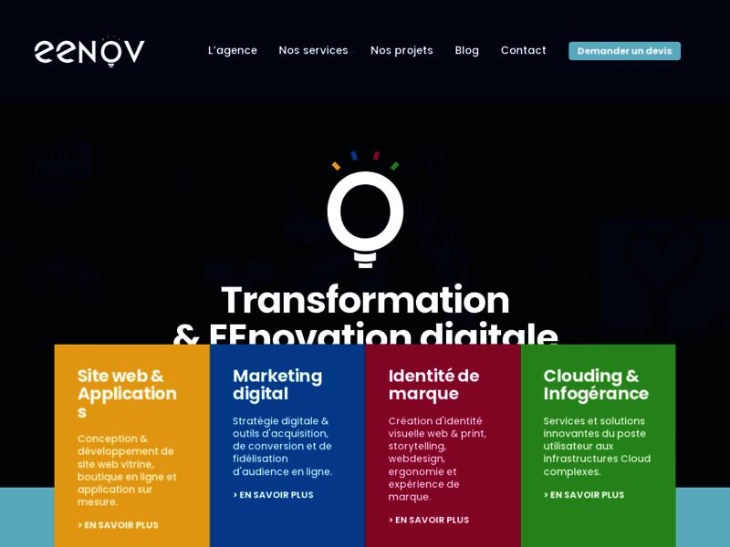 Eenov, agence web à Bordeaux