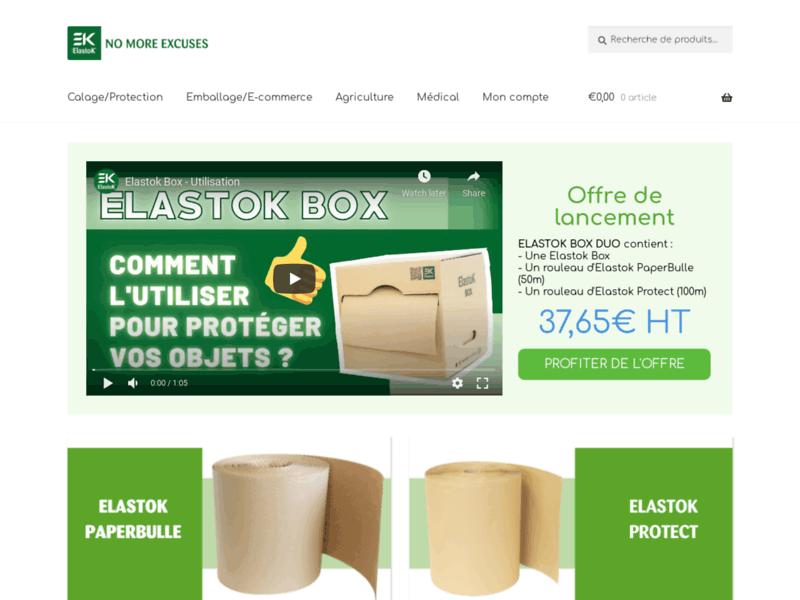 Elastok, produits d'emballage écologiques pour la logistique