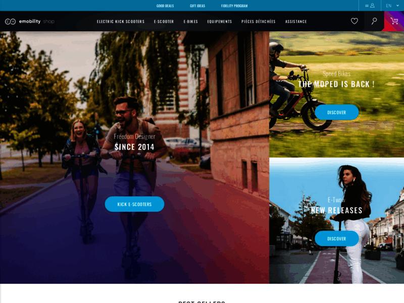 E-mobility Shop, trottinettes et vélos électriques