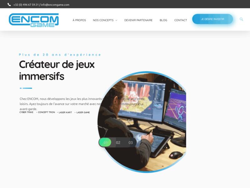 Encom Game, développeur de jeux révolutionnaires pour les centres de loisirs