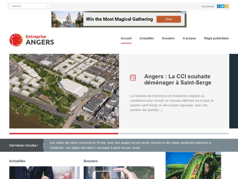 Entreprise Angers, actualité à Angers et sa région