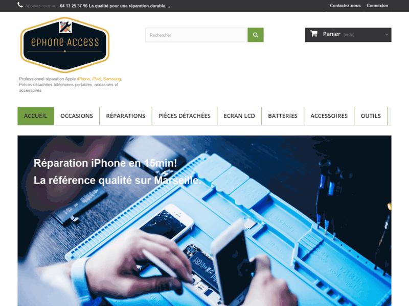 ePhone Access - Spécialiste réparation iPhone/réparation BlackBerry