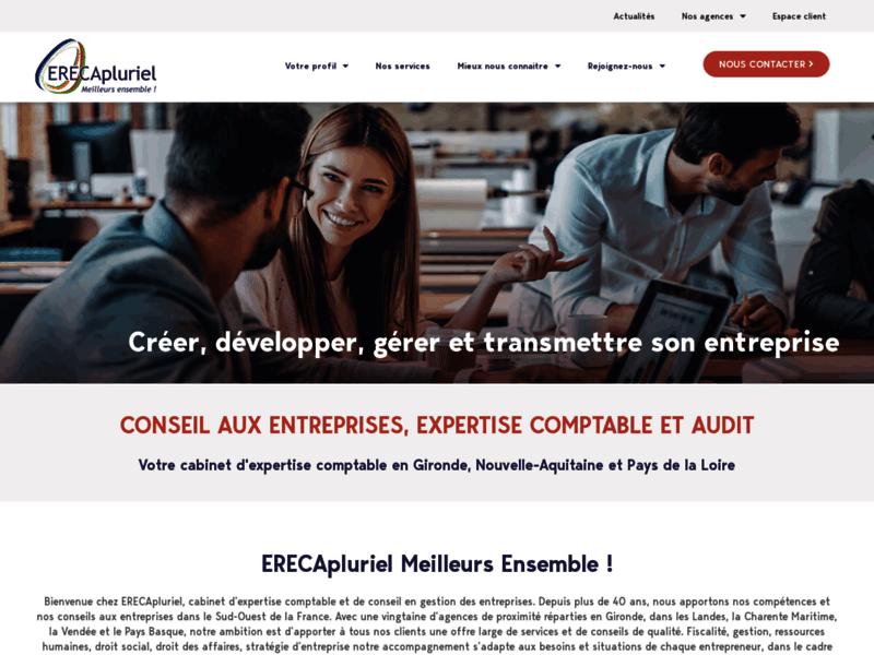 ERECApluriel : cabinets d'expertise comptable et fiscale à Bordeaux