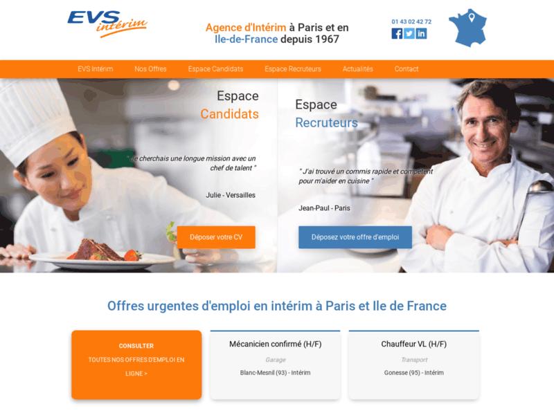 Agence intérim Paris