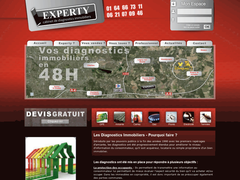 Experty : immobilier à Bussy-Saint-Georges