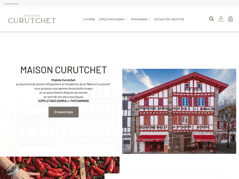 Boutique en ligne de produits alimentaires basques