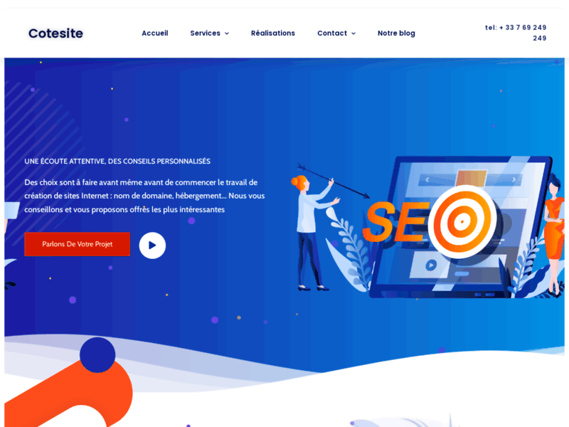 Fabricasite - Création site Web