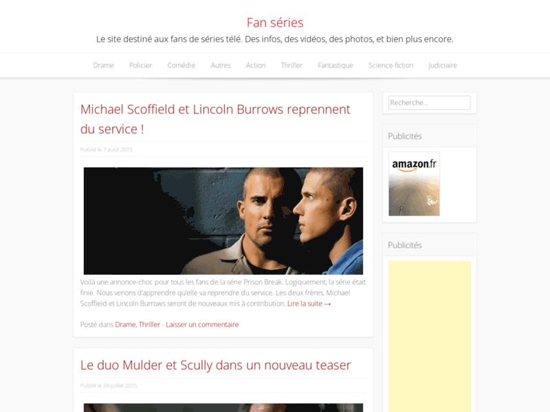 ctualités des séries tv - www.fanseries.fr