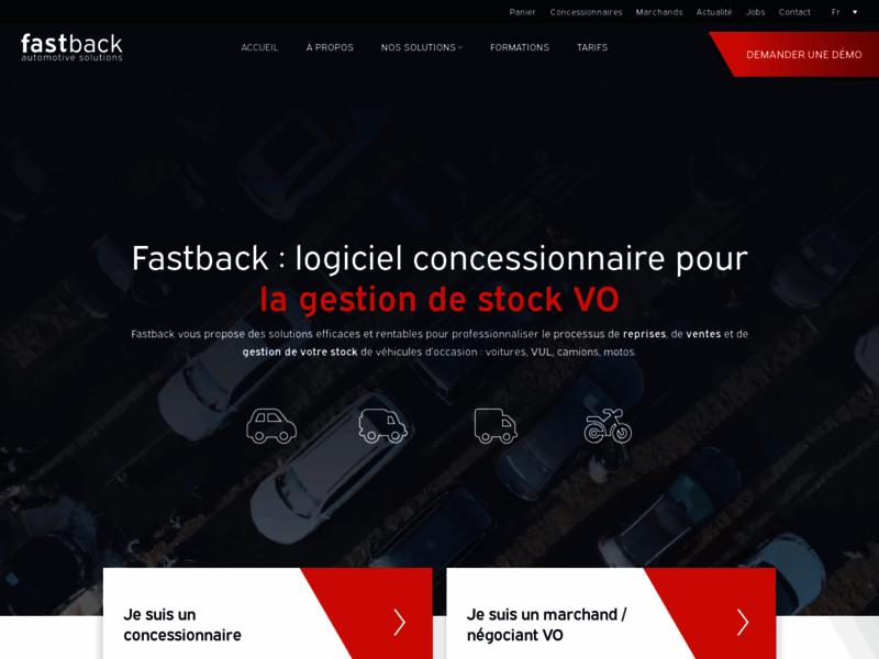 Fastback - Solutions pour concessions automobiles