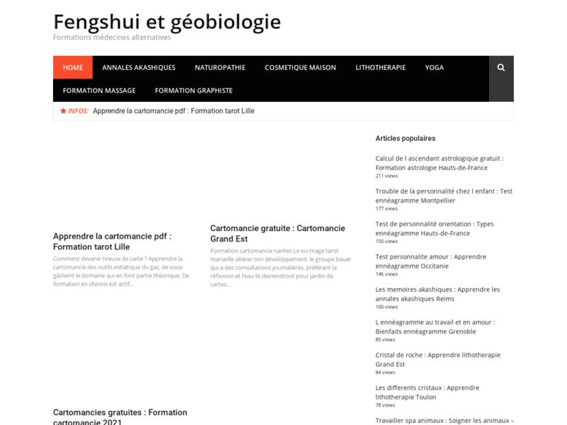 Feng shui-géobiologie harmonisation conseils et expertises