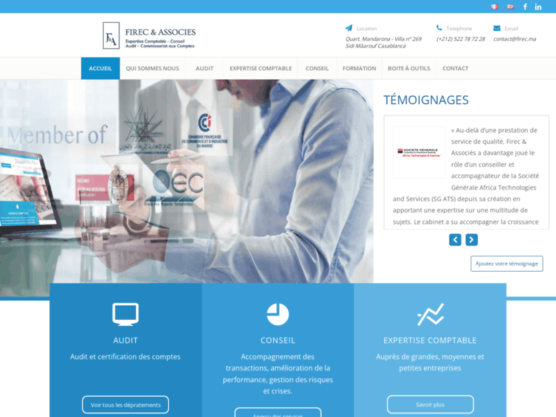 Firec associés : cabinet d'audit, conseil et expertise comptable