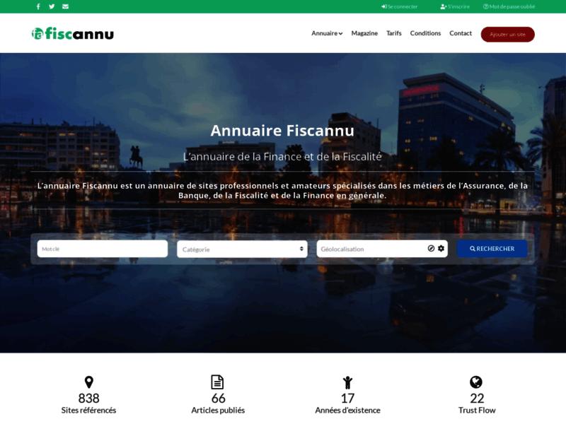 Magazine Fiscannu, magazine de la finance personnelle et de la gestion de patrimoine