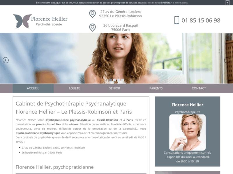 Florence Hellier, cabinet de psychothérapie parentale au Plessis-Robinson