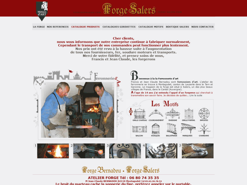 Forge salers
