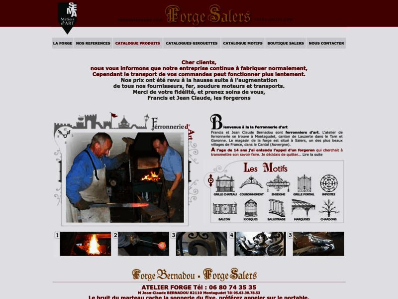 Forge salers, ferronnier d'art
