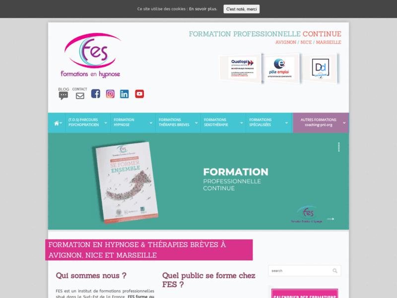FES, Formations en Hypnose Ericksonienne et en thérapies brèves en PACA