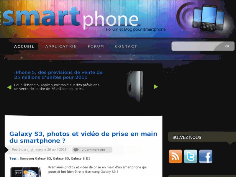 Forum smartphone