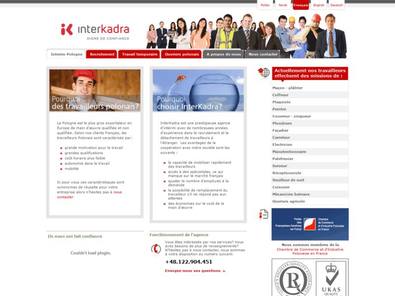 InterKadra - Agence d'intérim et recrutement