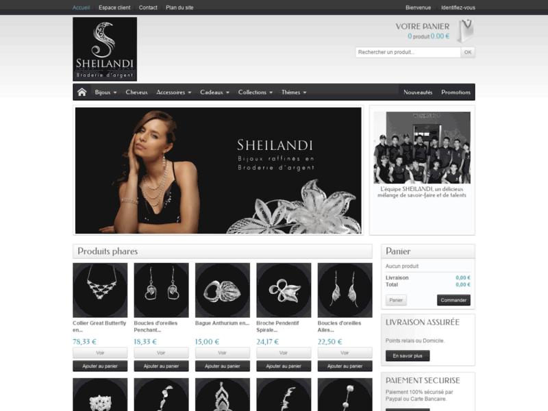 Sheilandi, le charme des bijoux en argent