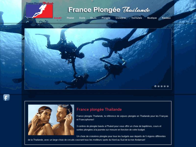 Site de réservation en ligne de séjours et croisières plongée en Thaïlande