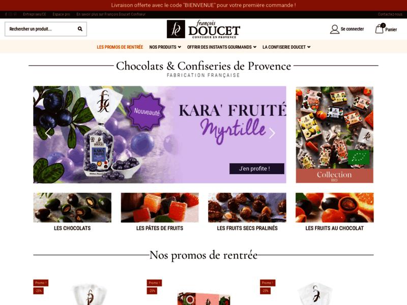 François Doucet, chocolats et confiseries de Provence
