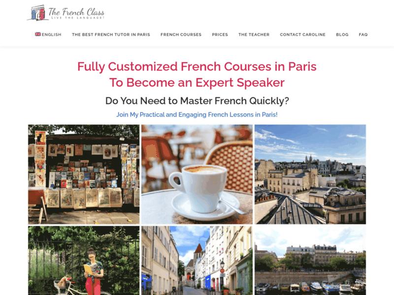 Professeurs de français à Paris et cours particuliers de français