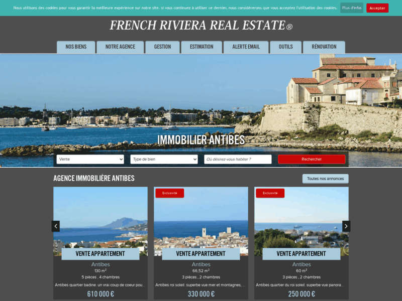 FRRE : Agence immobilière à Antibes