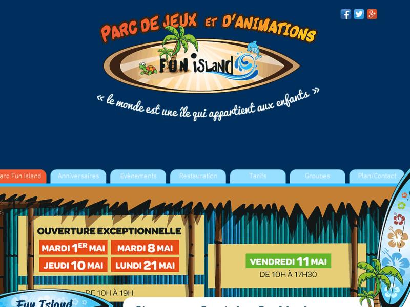 Parc de jeux couvert pour enfants Fun Island - Lyon Bron