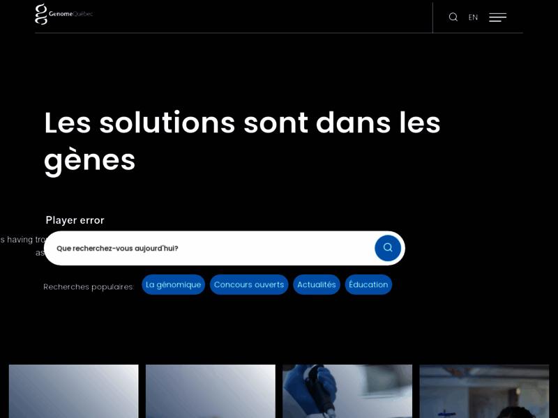 Génome Québec, institution scientifique